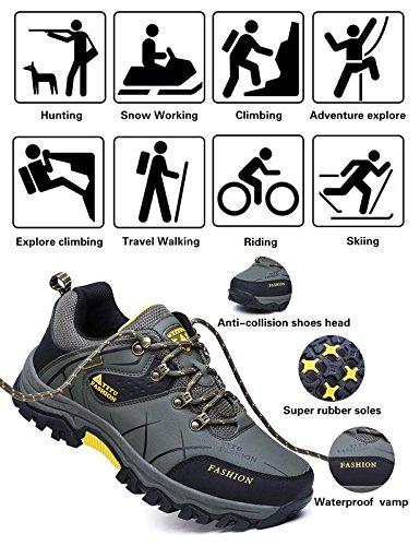 YITU de Homme Chaussures Air Randonn Sports Plein r7tdWrFxnZ