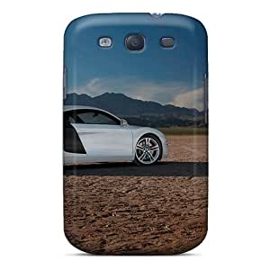 Durable Defender Case For Galaxy S3 Tpu Cover(audi R8 Car)