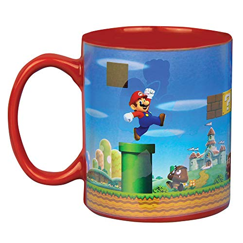 Super Mario Brothers Heat Changing Ceramic Coffee Mug