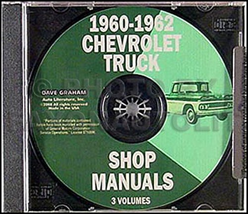 1961 Chevrolet Truck (1960-1962 Chevrolet Pickup and Truck CD Repair Shop Manual)