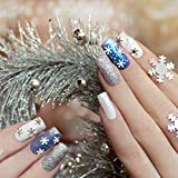 500PCS Clear False Nails Tips Lady French Style