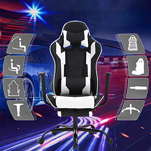 BestOffice Gaming Chair High Back with Lumbar and