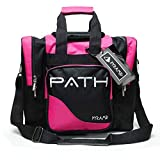 Pyramid Path Pro Deluxe Single Tote - Black/Hot Pink