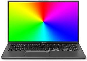 "Asus Vivobook 15 Thin and Light 15.6"" FHD, AMD Quad Core R3-3200U CPU, 4GB DDR4 RAM, 128G SSD, AMD Radeon Vega 3 Graphics, Windows 10 in S Mode, F512DA-DB31, Slate Gray"