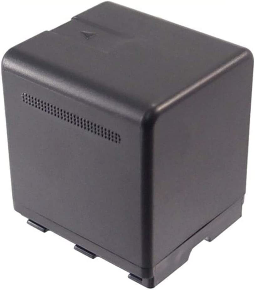 Color : Black, Size : 46.52 x 40.27 x 26.63mm Battery Camera 2100mAh//15.54Wh 7.4V Camera Battery for VW-VBN260 VW-VBN260E VW-VBN260E-K HC-X900 HC-X900M HDC-HS900 Photo Battery
