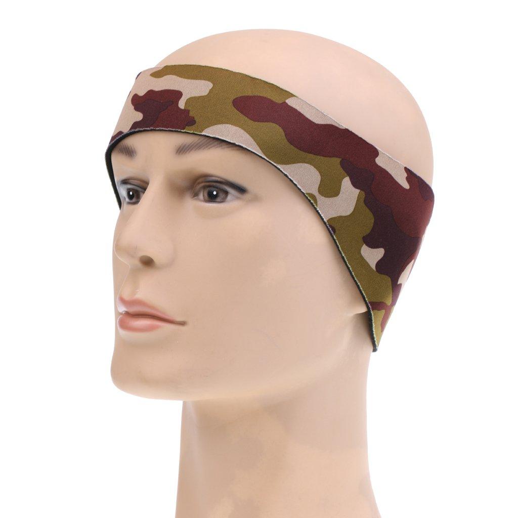 M Dovewill Kids Children Adults Neoprene Watersport Swimming Bathing Headband Ear Band Protector Guard Secure Ear Plugs Camo