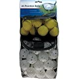 Intech I99025 Golf 36 Pack Practice Balls (24 with Holes, 12 Foam)