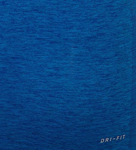 Nike DRI-FIT Knit Tank - Camiseta para mujer azul