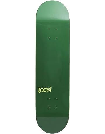 4b50bbc6d3 CCS Logo Blank Skateboard Deck - Natural Wood Colors Multiple Sizes
