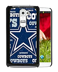 Fashionable And Unique Designed Cover Case With Dallas Cowboys 3 Black For LG G2 Phone Case