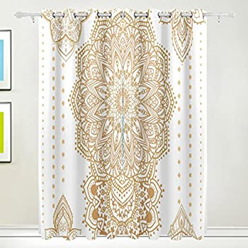 U life vintage bohemian indian turkish floral - Curtain ideas for living room india ...