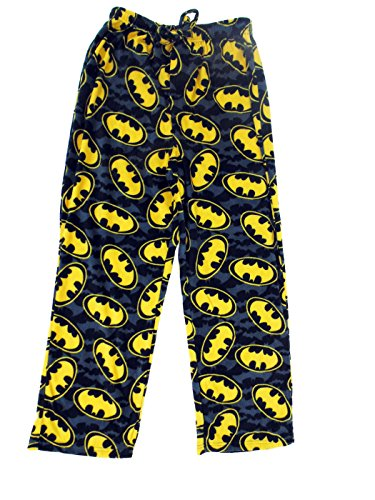 Briefly Stated Men's Batman Microfleece Lounge Pants, Multi, Small