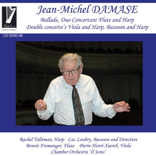 Damase: Ballade, Duo Concertant Flute and Harp, Double concerto's Viola and Harp & Bassoon and Harp