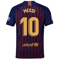 2018-2019 New Season Barcelona  10 Messi Home Mens Soccer Jersey Color Red  857de2e1ffcc5