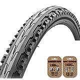 KENDA Kross Mountain Bike Tire (K847) Black - Semi Slick Tread Style - FREE SHIPPING - FREE VALVE CAP UPGRADE WORTH .99!