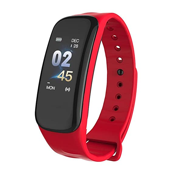 Impermeable Fitness Tracker Actividad Bluetooth con Pulsometros ...
