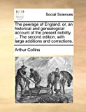 The Peerage of England, Arthur Collins, 1170858058