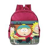 Kids South Park School Backpack Cartoon Baby Boys Girls School Bag Pink