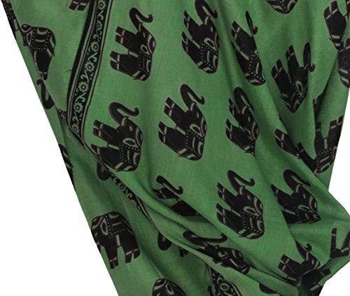 Aakriti Gallery - Pantalón - para mujer Verde