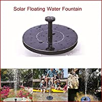 BEESCLOVER Mini Solar Floating Water Fountain for Garden Pool Pond Decoration
