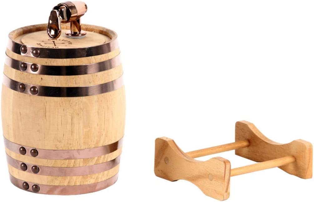 Rum,Hot Sauce /& More Age your own Whiskey,Beer,Wine,Bourbon,Tequila WSJTT Whiskey Barrels Hot Sauce /& More 5 Liters Whiskey Barrel