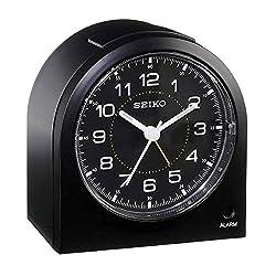 Seiko 3 Compact & Lightweight Bedside Alarm Clock