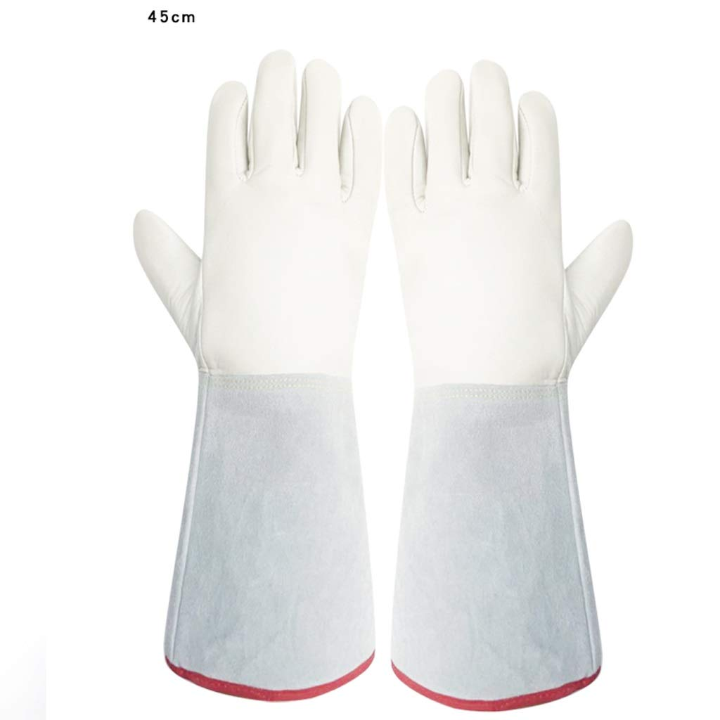 YSNBM Gloves Low Temperature Resistant Gloves For Warmth And Defense Against Cold -80-200 Degree Anti-liquid Nitrogen Gloves Cold Storage Dry Ice Filling Station Anti-freeze Gloves 1 Pair (optional Fi