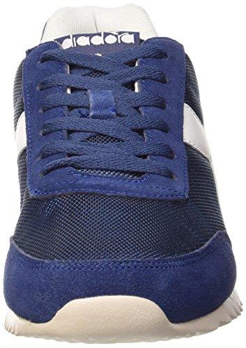 Diadora Jog Light Win - Zapatos Unisex adulto Azul - Bleu Estate/Blanc