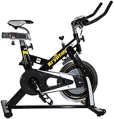 BH Fitness - Bicicleta Indoor Krypton: Amazon.es: Deportes y aire ...