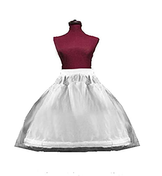 183986b90ae8 Image Unavailable. Image not available for. Color: SACASUSA (TM) 1-HOOP  Flower Girl Petticoat ...
