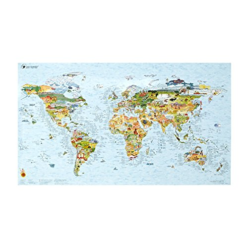 (Surf Maps World Map Surf Accessory One Size Multi)