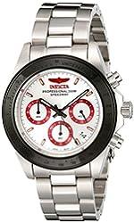 Invicta Watches Mens Speedway Chronograph Steel Watch