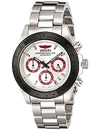 Invicta Men's 17314 Speedway Analog Display Japanese Quartz Silver Watch