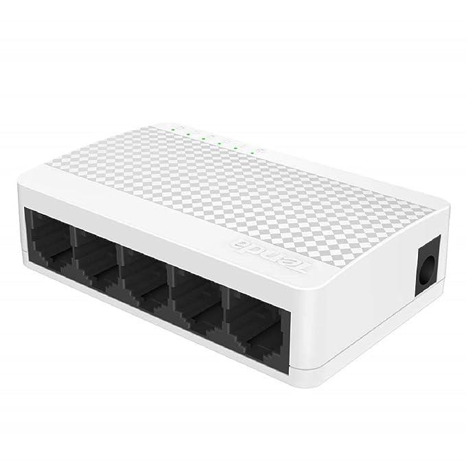 TENDA TE S105 5 Port Mini 10/100Mbps Fast Ethernet Switch Network Hubs