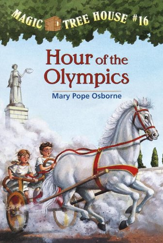 Magic Tree House Olympics book