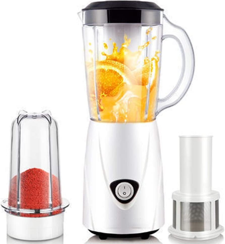 LQ&XL Smoothie Maker Mini Blender, 200W Commercial Blender, 800ML Electric Juice Extractor Kitchen High Speed Jug Blender Machine 22000RPM,Easy to Clean