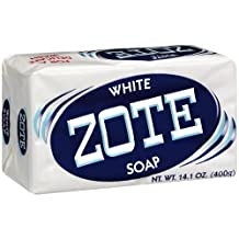 Zote White Laundry Soap, 14.1 Oz by fabrica de sabon