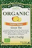 St. Dalfour Green Tea, Golden Mango, 25 ct For Sale