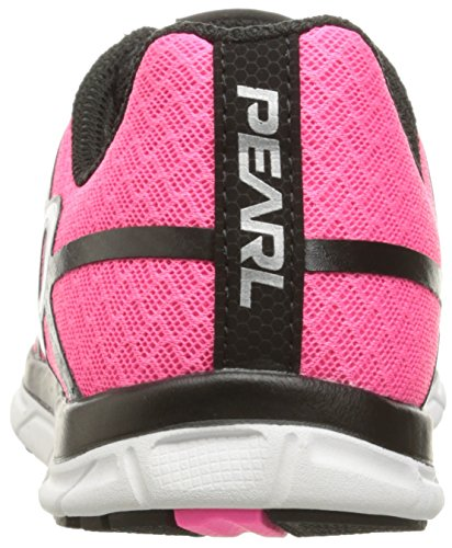 Pearl Izumi Womens W Em Road N 1 V2 Hardloopschoen Black / Screaming Pink