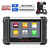 Scanner MaxiCOM MK808, Autel 2021 Newest OBD2 Car Diagnostic Scanner, Equipped with 25+ Maintenance Functions, All System Diagnosis, IMMO/EPB/BMS/SAS/TPMS/AutoVIN/ABS Bleeding