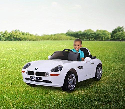 LT 860 Coche eléctrico para niños BMW Z8 monoplaza 12V con control remoto (Negro): Amazon.es: Juguetes y juegos