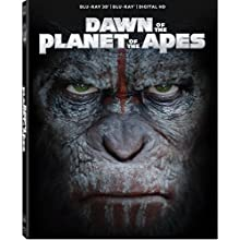 Dawn of the Planet of the Apes Blu-ray 3d (2014)