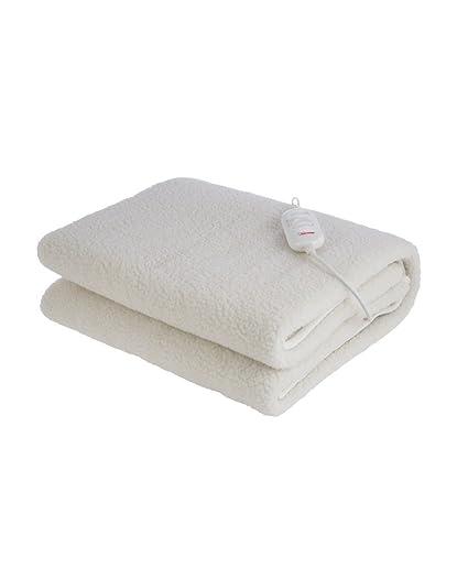 Manta eléctrica Bimar Pisolo SCL11 calientacams eléctrico por cama individual nivel de temperatura ajustable 20-