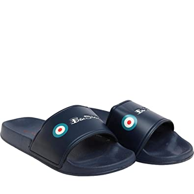 4f104b9cac6de6 Mens Summer Casual Pool Sliders Footwear  Amazon.co.uk  Shoes   Bags