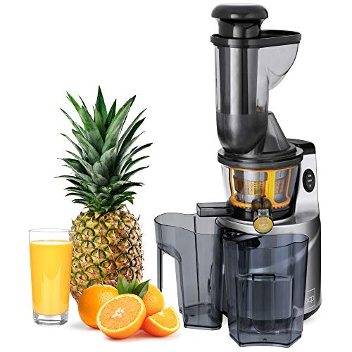 Best Choice Products 150W 60RPM Whole-Food Slow Masticating Cold Press Juicer Extractor for Fruits, Vegetables with 3in Wide Feeder Chute, Juice/Pulp Jug, Drip-Free Cap, Safety Locking, Cleaning Brush