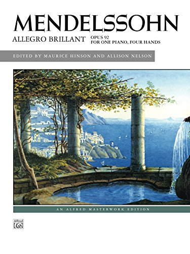 Allison Piano (Allegro Brillant: Piano Duet (1 Piano, 4 Hands) (Alfred Masterwork Edition))