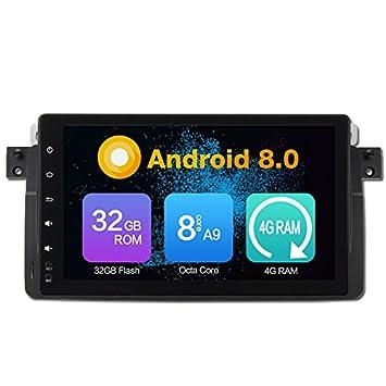 Octa Core 4GB Ram Android 8,0 Auto GPS Navegación Multimedia ...