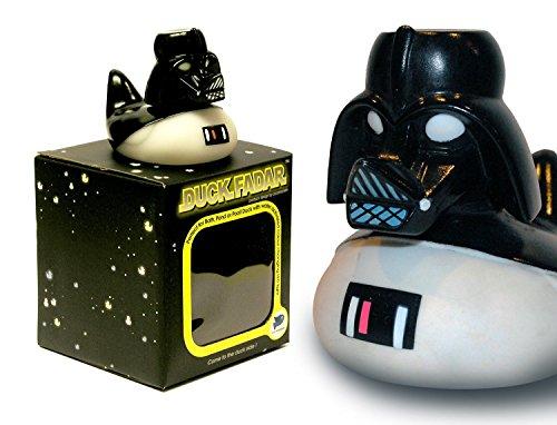 Duck Fadar / Spa Wars Rubber Duck / Light Up Colour Changing LED Inside - He's a Light Fadar by Locomocean -