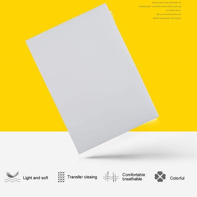 100 PCS A4 Papel de impresión por sublimación para poliéster ...