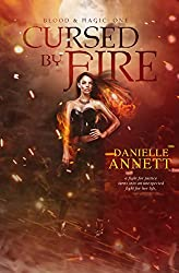 Cursed by Fire: A paranormal, urban fantasy novel (Blood & Magic Book 1)